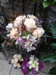 Orchidee Frauenschuh Brautstrauß